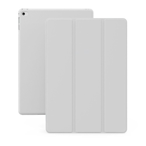 KHOMO iPad Mini 4 Case (Released September 2015) - DUAL White Super Slim Cover with Smart Feature (sleep / wake feature) For A