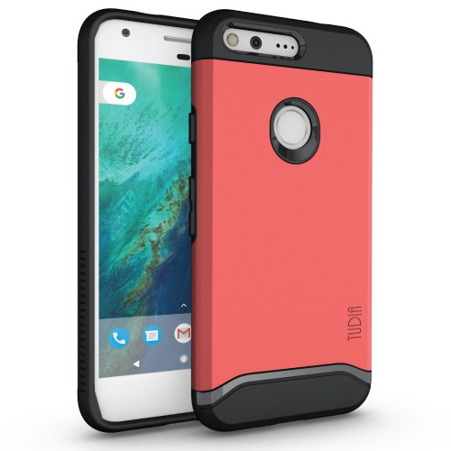 Google Pixel XL Case, TUDIA Slim-Fit HEAVY DUTY [MERGE] EXTREME Protection / Rugged but Slim Dual Layer Case for Google Pixel