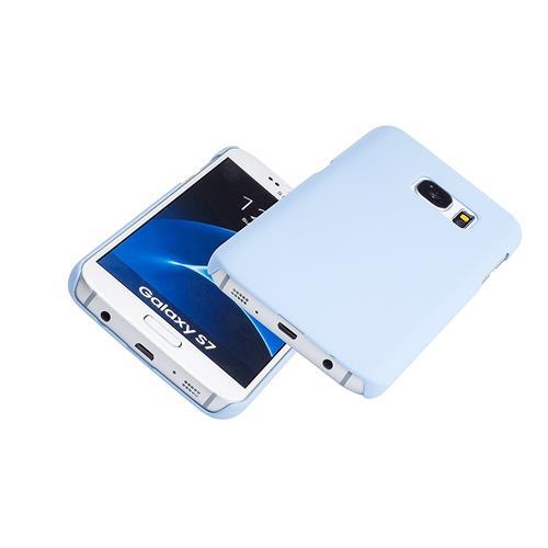 Galaxy S7 Case - Arpiel - Exact-Fit Slim Case - Rubberized Matte Plastic Hard Case - Pastel Colour Cover for Men and Women (B