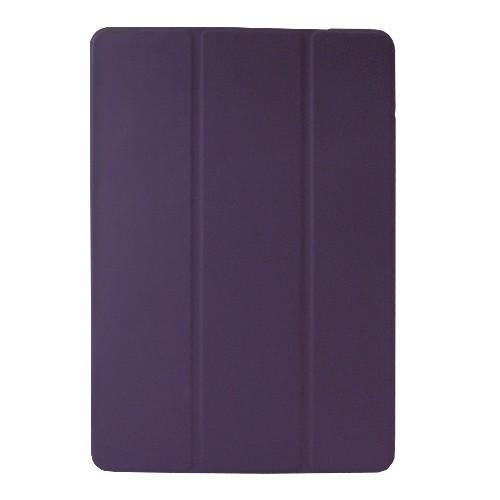 KHOMO ? For Apple iPad Mini & iPad Mini Retina Display Super Slim Dual Polyurethane Purple Cover FRONT + Hard Matt See Throug