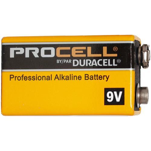 8-Pack 9 Volt Duracell Procell Alkaline Batteries (PC1604)