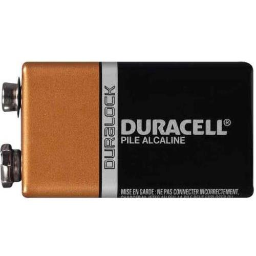 240-Pack 9 Volt Duracell Alkaline Batteries