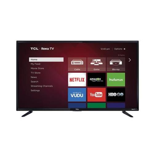 Tcl 48fs3750 48 Inch 1080p Roku Smart Led Tv Refurbished 46 52