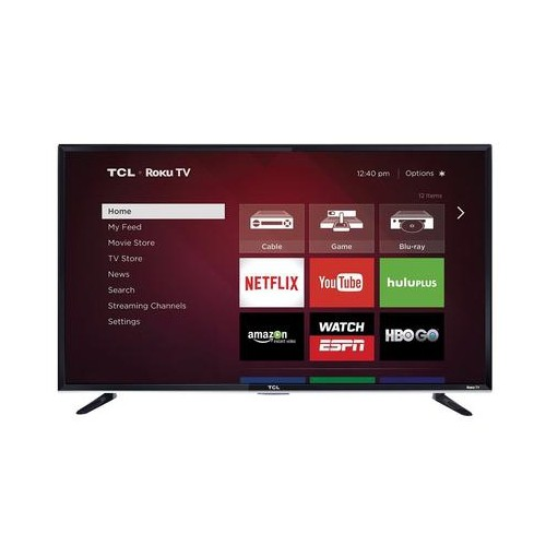 "TCL 55"" 1080p 120Hz Roku Smart LED HDTV (55FS3750) - REFURBISHED"