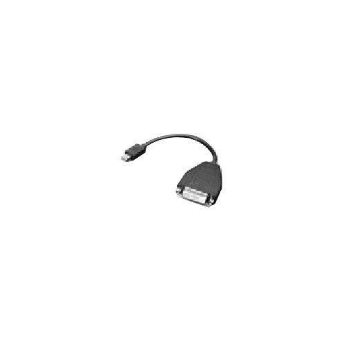 Lenovo 20cm (7.8in) Mini-DisplayPort to Single-Link DVI Monitor Cable (0B47090)