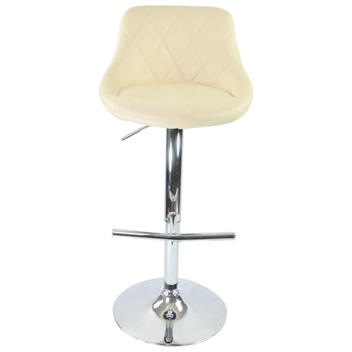 tabouret de bar contemporain hauteur de bar siena beige tabourets de bar best buy canada. Black Bedroom Furniture Sets. Home Design Ideas