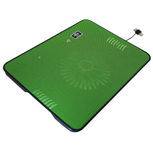 "Exian Cooling Fan for Laptops 13"" x 10"" Green"