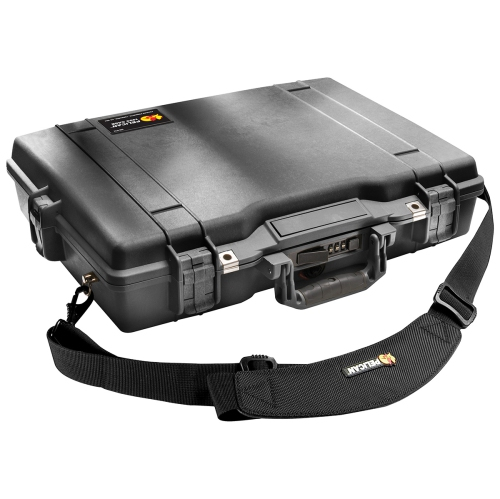 Pelican 1495 Laptop Case w/ Foam - Black