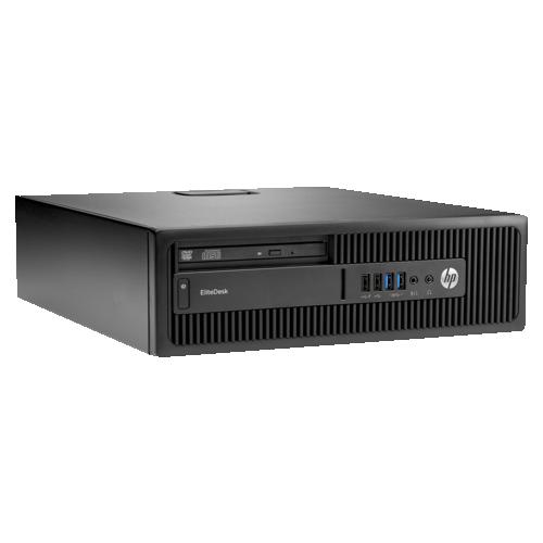 HP EliteDesk 705 G3 SFF PC (AMD PRO A6-9500/500GB HDD/4GB RAM/AMD Radeon R5 Graphics/Windows 10) - English - (Y4E56UT#ABA)