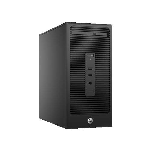 HP 280 G2 Microtower Desktop (Intel Core i3-6100 / 500GB HDD / 4GB RAM / Intel HD Graphics 510 / Windows 7) - (T6W21UT#ABC)