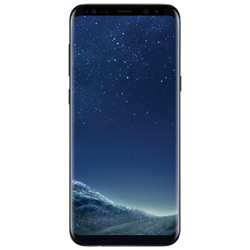 Rogers Samsung Galaxy S8+ Smartphone - Black - 2 Year Agreement