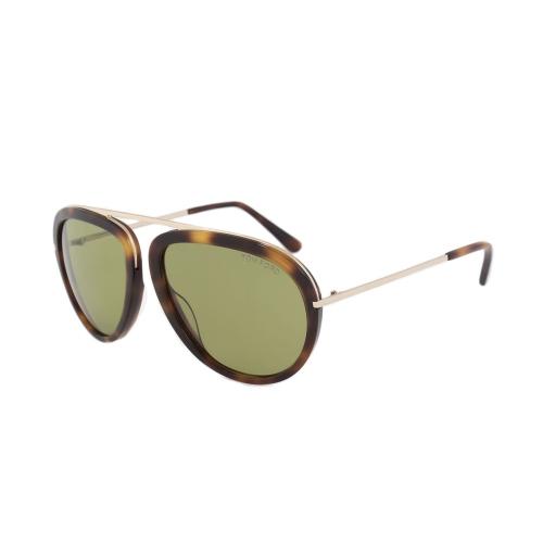 f910943364dd Tom Ford Stacy Men s Aviator Sunglasses FT0452 56N 57