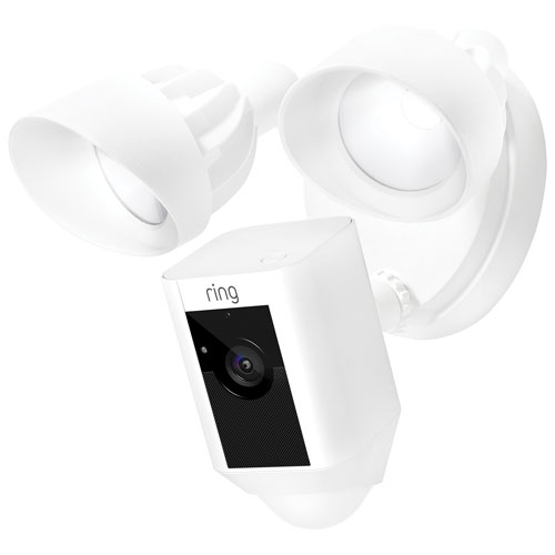 Ring Floodlight IP Cam - White