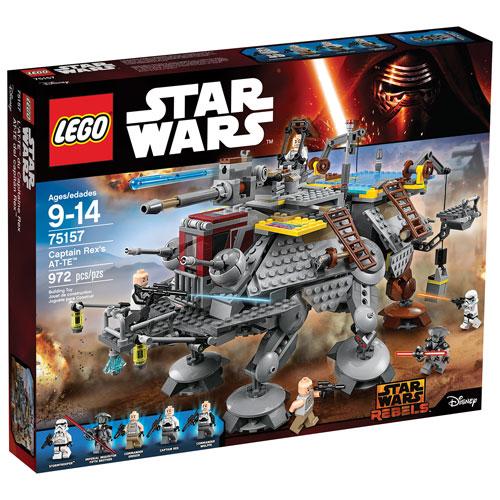 LEGO Star Wars Rebels: Captain Rex's AT-TE Walker (75157) : LEGO ...