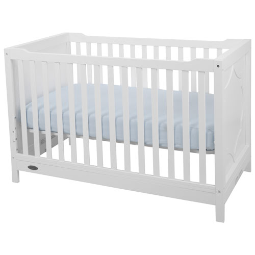 Kidiway Moon 4 In 1 Convertible Crib White Baby Cribs Best Buy