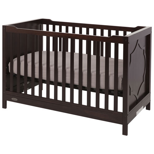 kidiway moon 4in1 convertible crib espresso - Convertible Baby Cribs