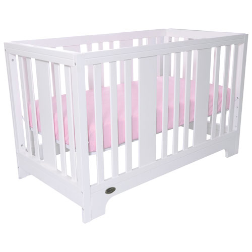 kidiway zeni solid wood 4in1 convertible crib white