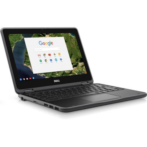 "Dell Chromebook 3180 11.6"" LCD Chromebook - Intel Celeron N3060 Dual-core (2 Core) 1.60 GHz - 4GB - 16GB Flash Memory Capacity"