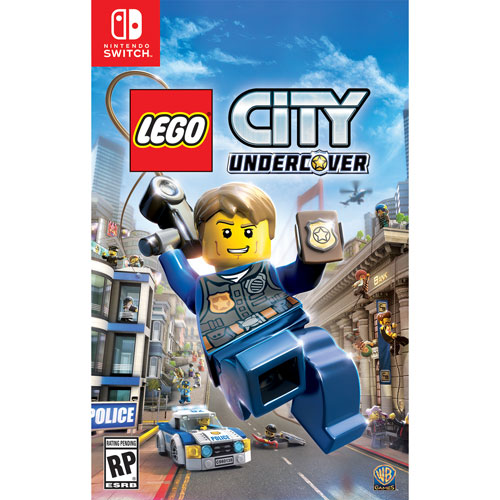 LEGO City Undercover (Switch) - Usagé