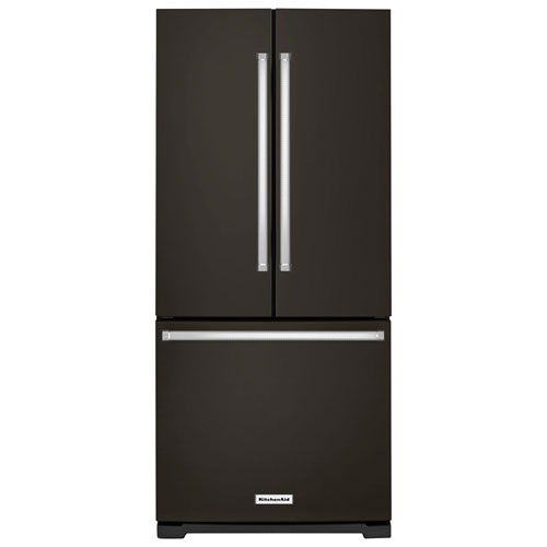 "Kitchenaid 30 19 7 Cu Ft French Door Refrigerator With: KitchenAid 31"" 19.7 Cu. Ft. French Door Refrigerator (KRFF300EBS)"