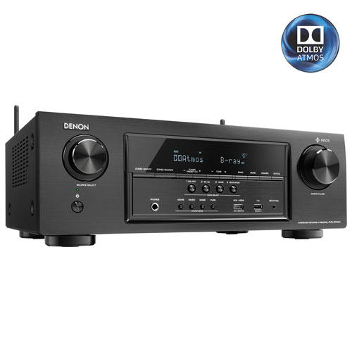 Denon AVR-S730H 165-Watt 7.2 Channel 4K Ultra HD Atmos Network AV Receiver - Only at Best Buy