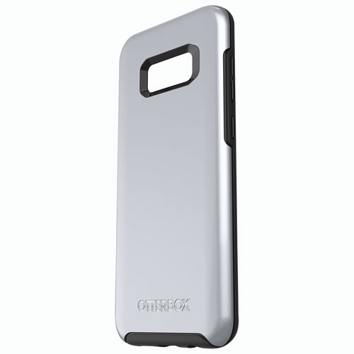 OtterBox Symmetry Fitted Hard Shell Case for Samsung Galaxy S8 Plus - Titanium Silver