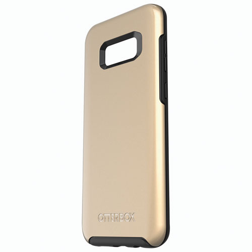 OtterBox Symmetry Fitted Hard Shell Case for Samsung Galaxy S8 Plus - Platinum/Gold