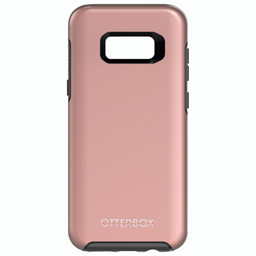 OtterBox Symmetry Fitted Hard Shell Case for Samsung Galaxy 8 Plus - Pink Gold