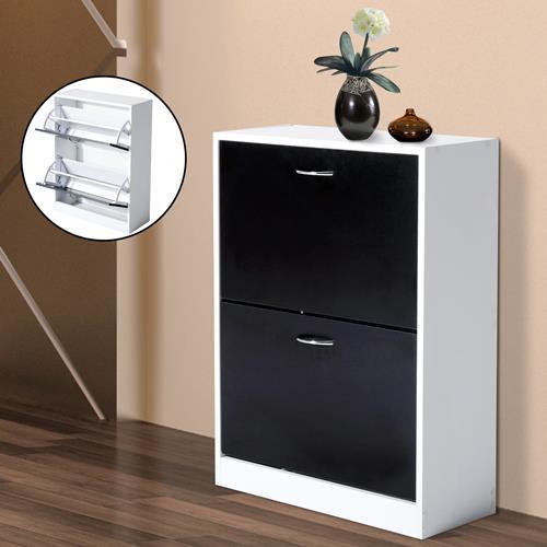 shoe storage furniture for entryway. homcom wooden shoe cabinet 2 doors shelf storage organizer rack entryway furniture for o