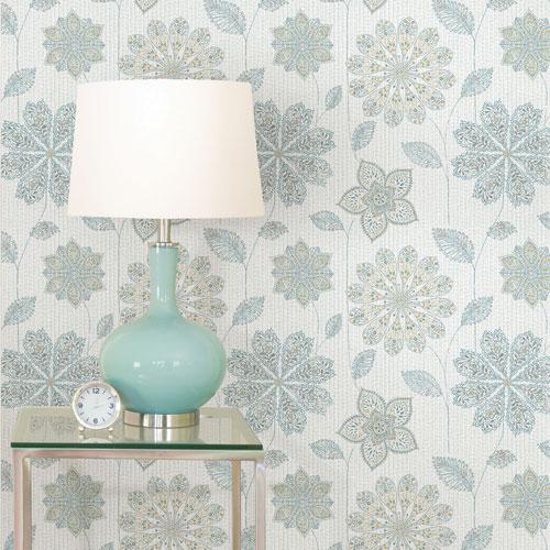 NuWallpaper Gypsy Floral Peel Stick Wallpaper