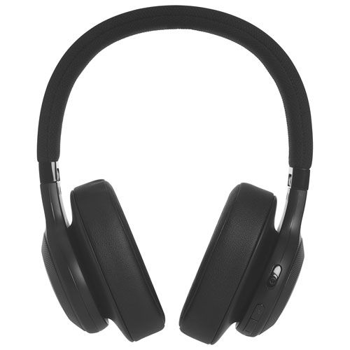 2f2a12dfc7e JBL Over-Ear Wireless Headphones with Mic (JBLE55BTBLK) - Black | Best Buy  Canada