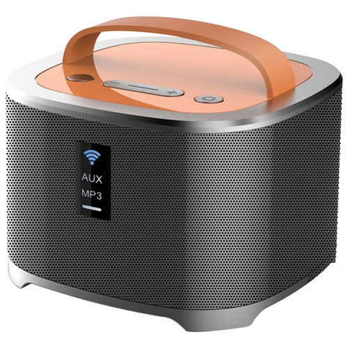 Sharper Image 15 Watt Wireless Bluetooth Tower Speaker With
