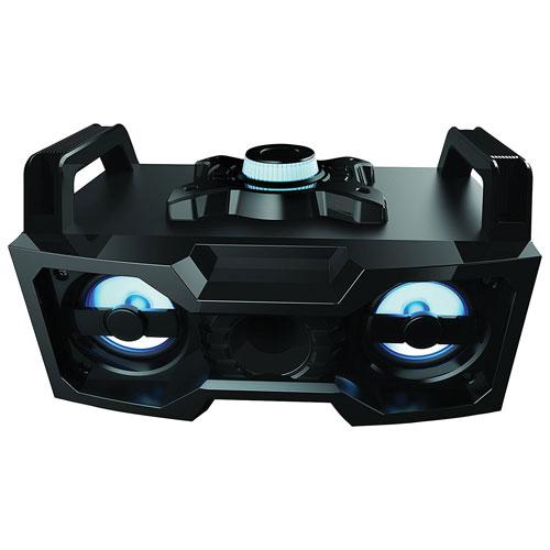 Sharper Image DJ LED Wireless Bluetooth Boombox
