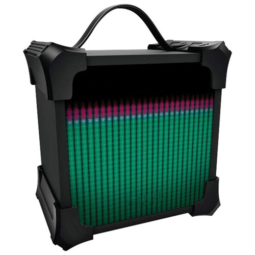 Sharper Image Led Light Show Bluetooth Wireless Speaker Portable