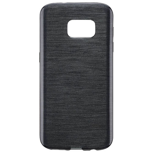 Blu Element Brushed Gel Skin Fitted Soft Shell Case for Galaxy S8 - Black
