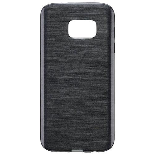 Étui souple ajusté Brushed Gel Skin de Blu Element pour Galaxy S8 - Noir
