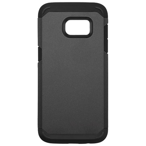 Blu Element Dual Layer Fitted Soft Shell Case for Galaxy S8 - Charcoal