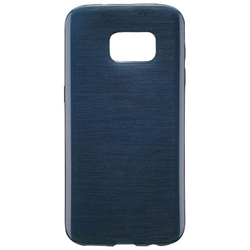 Blu Element Brushed Gel Skin Fitted Soft Shell Case for Galaxy S8+ - Blue