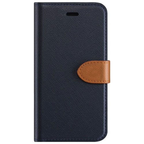 Blu Element 2-in-1 Folio Case for Samsung Galaxy S8 Plus - Blue/Tan