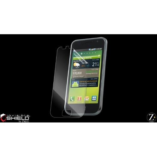 ZAGG SAMI9000S InvisibleShield for Samsung I9000 Galaxy S, Screen Protector, Retail Packaging, 1-Pack (Clear)