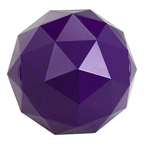 Digital Treasures 08947-PG Lyrix PowerBall Bluetooth Speaker (Purple)