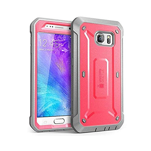 Galaxy S6 Case, SUPCASE Full-body Rugged Holster Case with Built-in Screen Protector for Samsung Galaxy S6 (2015 Release), Uni