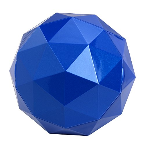 Digital Treasures 08940-PG Lyrix PowerBall Bluetooth Speaker (Blue)