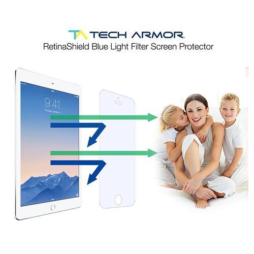 Apple iPad Air RetinaShield Screen Protector, Tech ArmorPremium Blue Light Filter Apple iPad Air / Air 2 Film Screen Protector