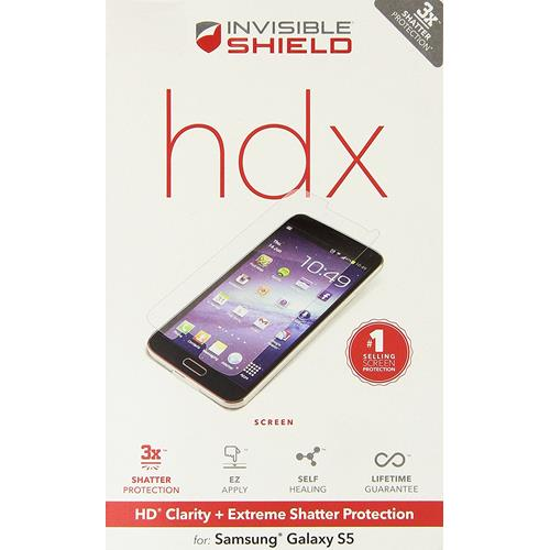 ZAGG InvisibleShield HDX for Samsung Galaxy S5 - Screen