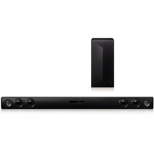 Refurbished LG 2.1ch 300W Sound Bar with Wireless Subwoofer and Bluetooth® Connectivity (SH3B)