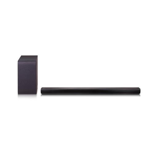 Refurbished LG SH5B 320-Watt 2.1-Channel Sound Bar with Wireless Subwoofer