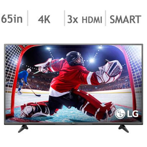 "Refurbished LG 65"" 4K Ultra HD 120Hz LED Smart TV"