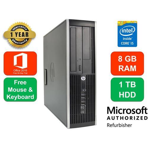 Ordinateur HP Compaq 6200 Pro, Intel Core i5, 8GB RAM, 1TB HDD, DVD-RW, Windows 10 - Remis A Neuf