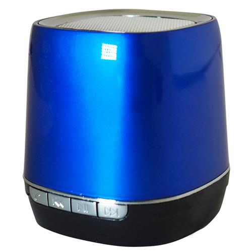 Exian Bluetooth Speaker Square Shape 5cm x 5cm x 6cmH Blue